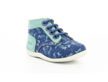 kicker's bonbon-bleu-impr-turquoise