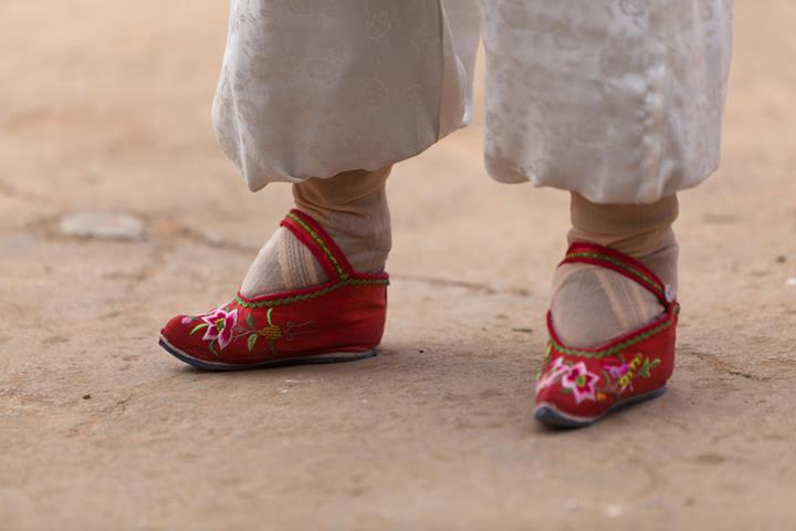 pieds chinois